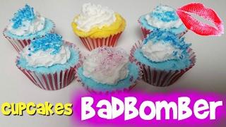 Cupcakes badbomber - Gör det själv