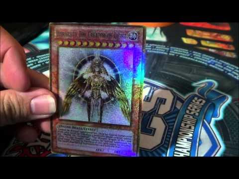 Yugioh Horakhty The Creator of Light HOLO Orica Token!!! :)