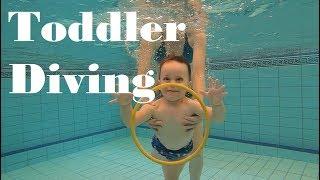 Toddler Diving Like a Pro | GoPro Hero 7 Black | Einor Bar