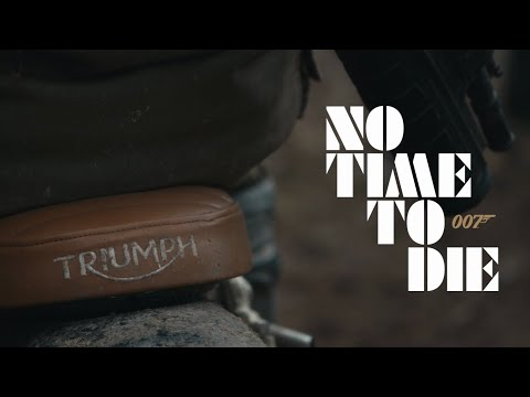NO TIME TO DIE: Behind-the-Scenes with Triumph Motorcycles