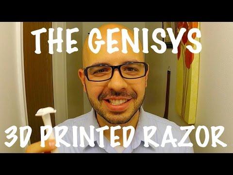 Genisys 3D Printed DE Razor Review