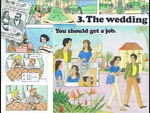 Real Spoken English - The Wedding - Get a job after school + Grammar, Reading & Writing
