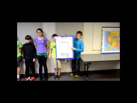 The Storm Chasers:  Grandview Heights Middle School First Lego League 2013 Research Project Video