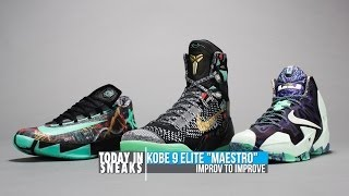 Win a Free Kobe Prelude Pack, Nike Basketball All-Star Collection and More - Today in Sneaks
