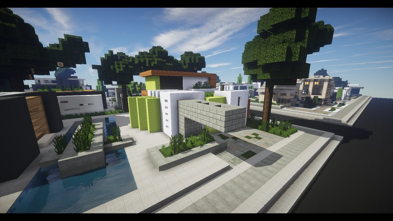 Minecraft vamos a construir casa moderna 4 youtube for Casa moderna minecraft 0 10 4