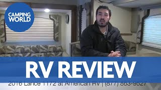 2016 Lance 1172   4 Season   Truck Camper