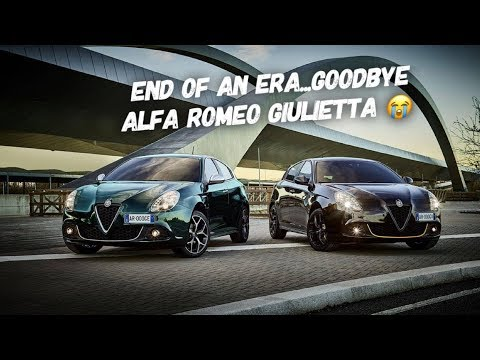Its OFFICIAL... Say Goodbye To The Alfa Romeo Giulietta