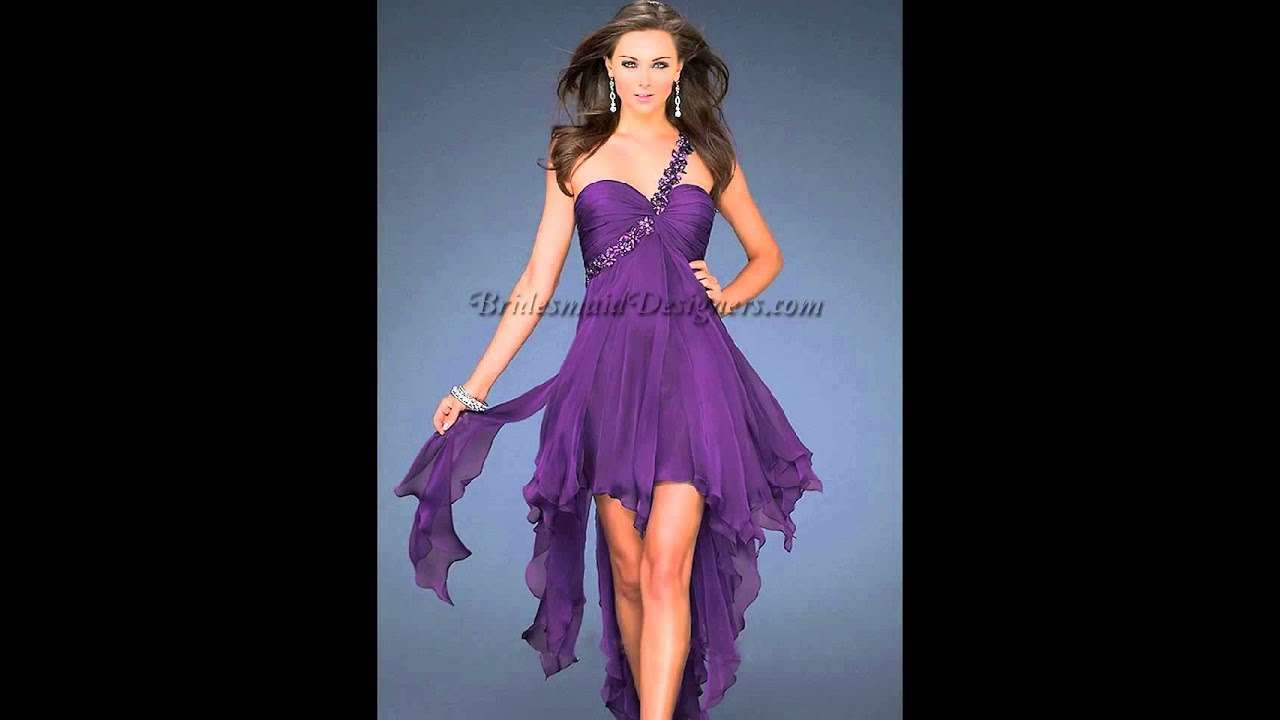 Purple Bridesmaid Dresses | Chiffon Bridesmaid Dresses | Red ...