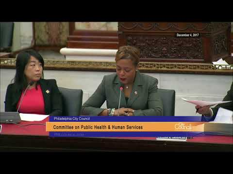 Committee on Public Health and Human Services 12-4-2017