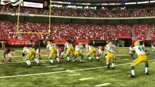 Madden NFL 11 Packers vs Falcons Official Sim