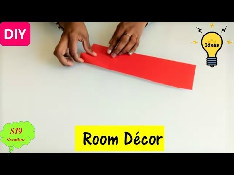 paper-craft-ideas-for-room-decor-|-easy-decor-ideas-with-paper-|-diy-home-decor-|-s19-creations