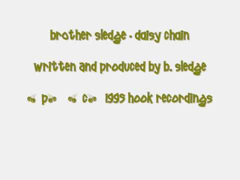 Brother Sledge - Daisy Chain (from the Trademarks E.P.) Vinyl Rip.wmv