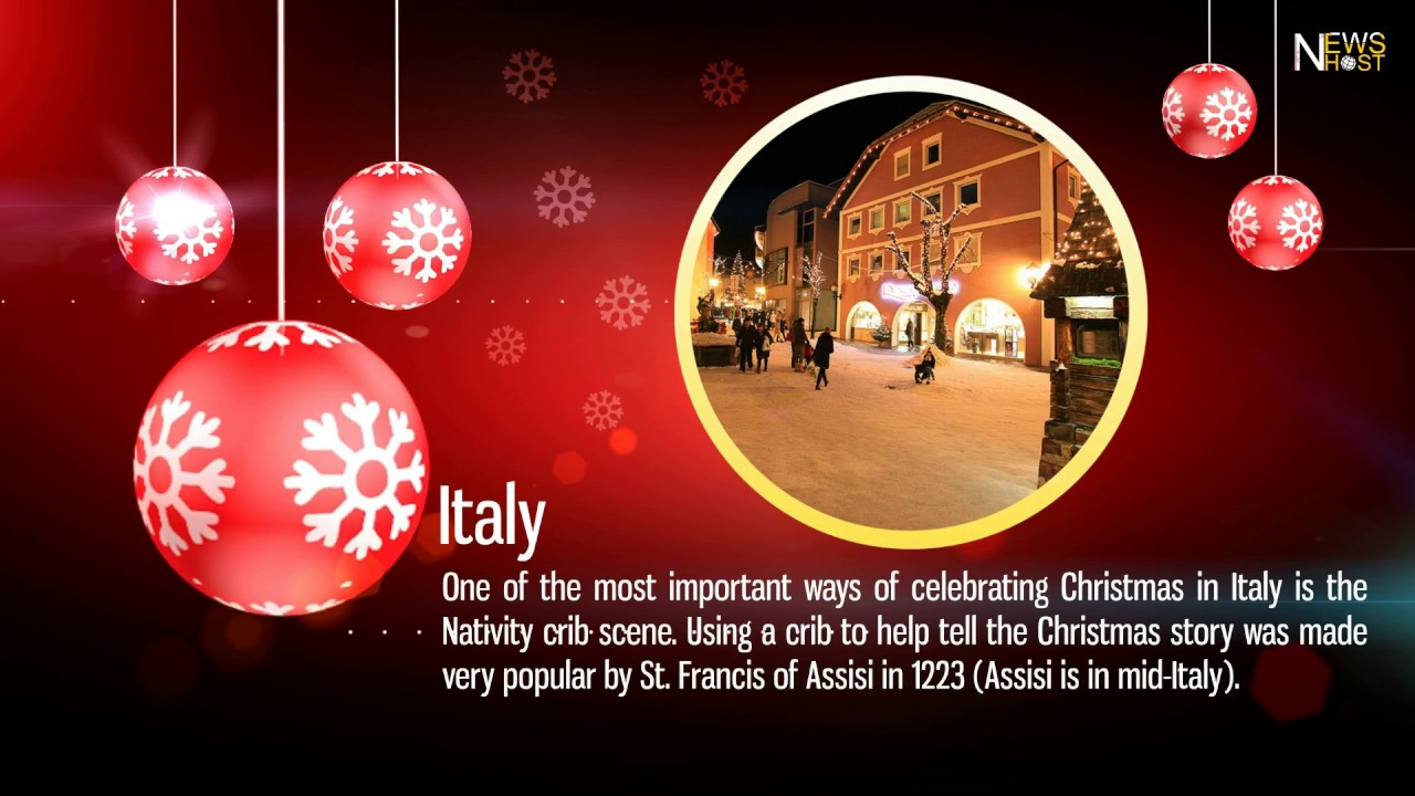 Christmas Traditions Around The World.Christmas Around The World Christmas Traditions And Celebrations In Different Countries