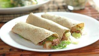 Tacos De Carne Molida Con Papas - Receta Fácil De Preparar