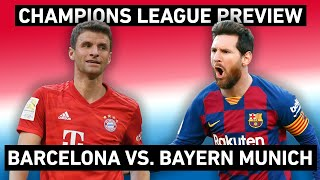 Bayern munich are the favorites, barcelona underdogs. there is no denying that. under hans-dieter flick, bavarians a dominant force, but ther...