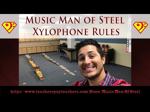 Xylophone Playing Rules for the Classroom