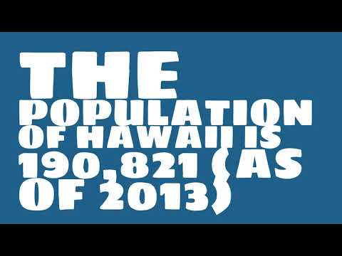 What is the population of Hawaii?