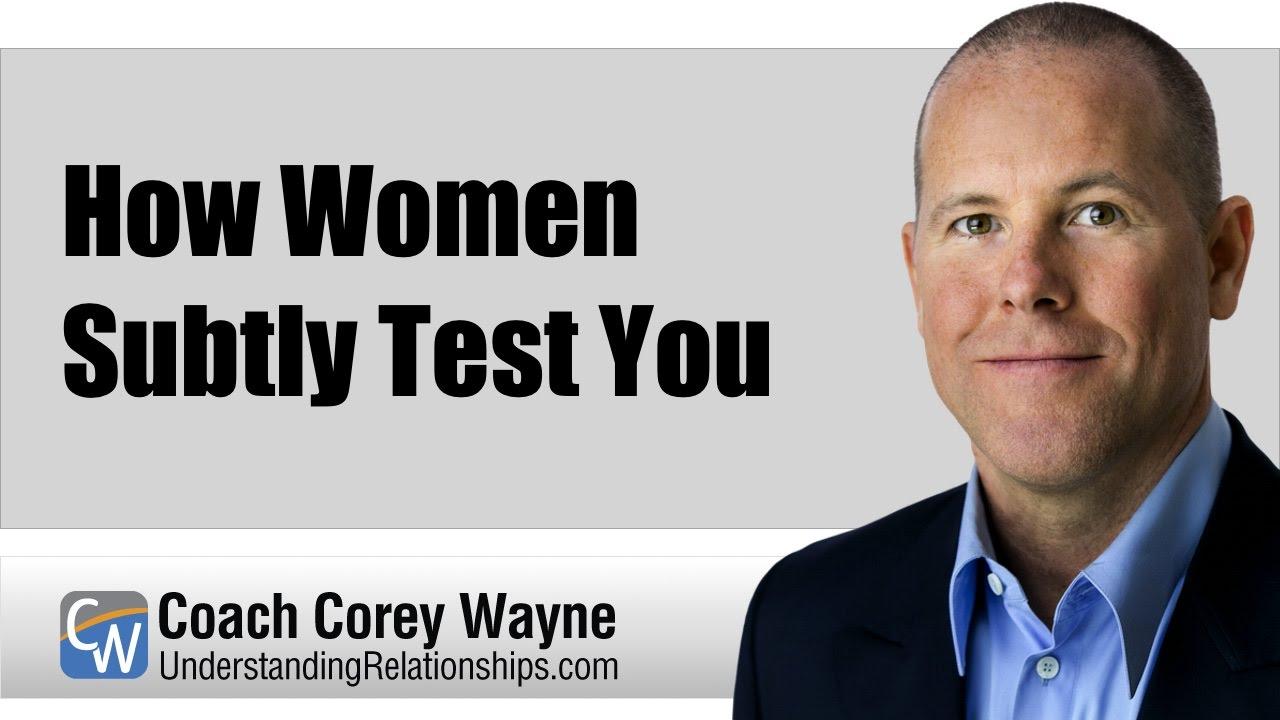 ways women test men