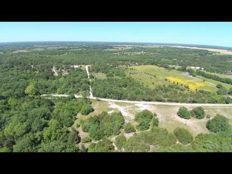 Droning around Fannin County near Bonham, Texas
