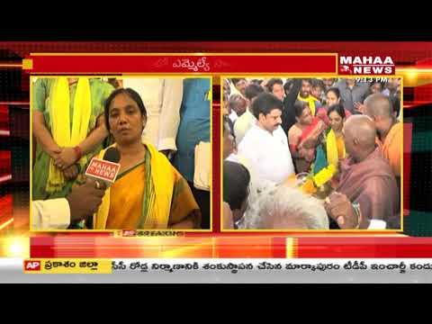 Minister Paritala Sunitha Face To Face Over Intintiki Telugu Desam Campaign In Parchur   Mahaa News