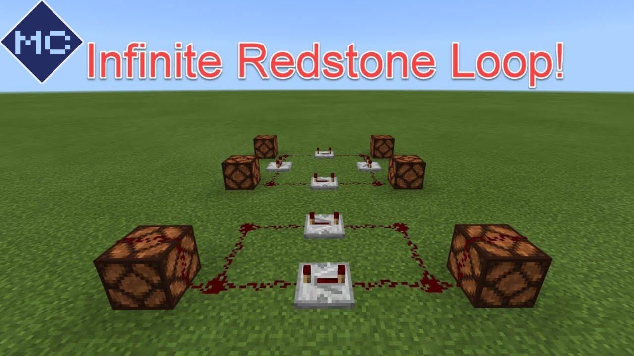 How to make an Infinite Redstone Loop in Minecraft: Bedrock!