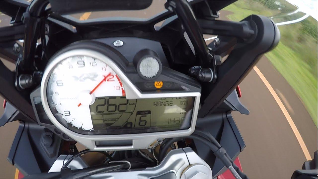 Bmw S1000xr Top Speed 0 262 Kmh S1000 Rr R Youtube