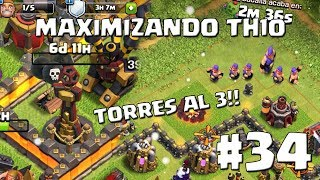 Mejoramos las Torres Infernales a Nivel Máximo!! #34 - MAXIMIZANDO TH10 - CLASH OF CLANS
