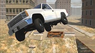 BeamNG Drive MODS - Jump Drifting The Pickup Truck!! +NEW Scenarios