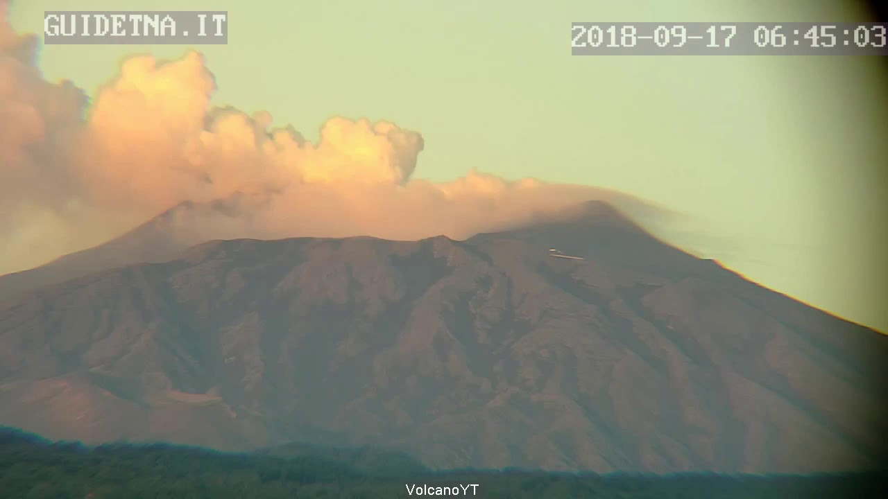 17/9/2018 WITA - Mt Etna Time Lapse
