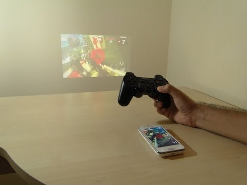 Detailed Gaming setup on Galaxy BEAM (with PS3 gamepad)