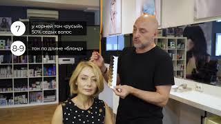 Окрашивание русых волос в домашних условиях