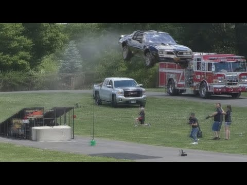 Smokey And The Bandit Tribute Jump Goes About As Well As You'd Expect