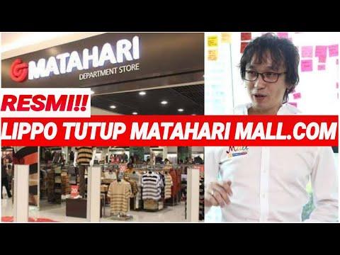 RESMI;LIPPO TUTUP MATAHARI MALL.COM;INI ALASANNYA;PRODUK RETAIL;BELANJA ONLINE;OVO;MALL INDONESIA