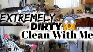EXTREMELY DIRTY CLEAN WITH ME / SPEED CLEANING / CLEANING MOTIVATION / CLEANING ROUTINE