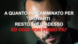 Marco Mengoni - Ad occhi chiusi - Karaoke con testo