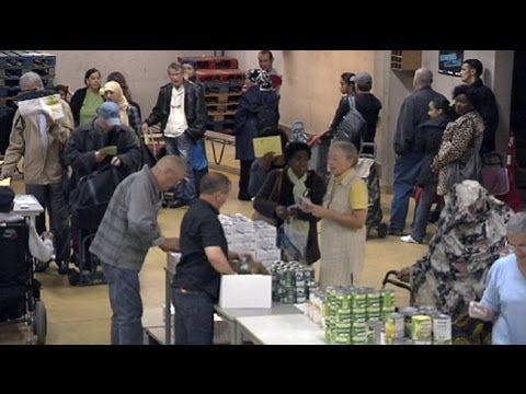 euronews reporter - Cuts that threaten to starve European food aid