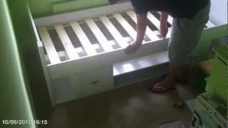 Assembling Uno Cabin Bed