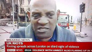London Riots. (The BBC will never replay this. Send it out) thumbnail