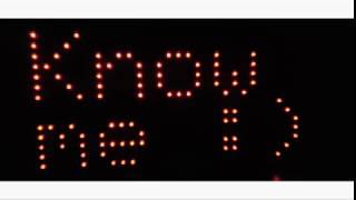 Arduino p10 led dot matrix display driver shield