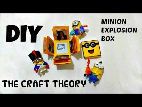 DIY: MINION EXPLOSION BOX (2016)