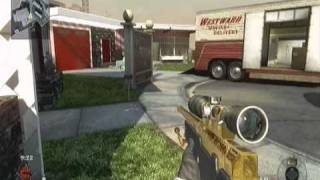 Call of Duty Black Ops: NukeTown Secret Ladder