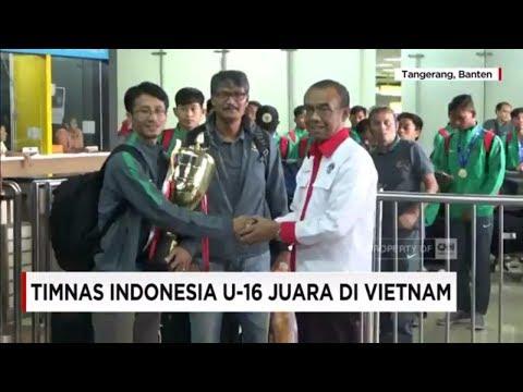 Selamat! Timnas Indonesia U-16 Juara di Vietnam