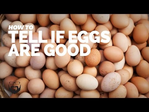 How to tell if a fresh chicken egg is bad