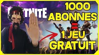 GRATUIT !!! NOUVEAU TIRAGE 1000 AU SORT UN JEU PS4/XBOX ou PC!!!