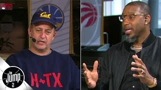 Jeff Van Gundy was so mad after Tracy McGrady's 13 points in 33 seconds, he 'went off' | The Jump