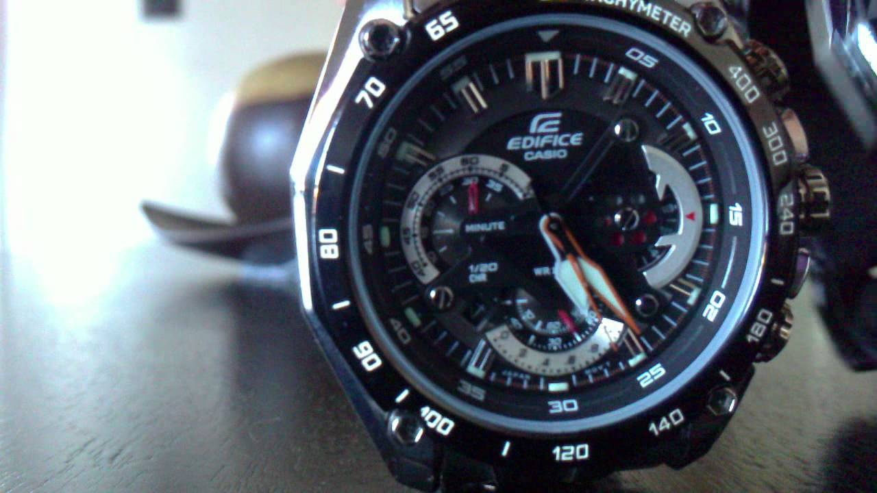 0d6a97f2afb Casio Edifice EF 550 Red Bull Oficial - YouTube