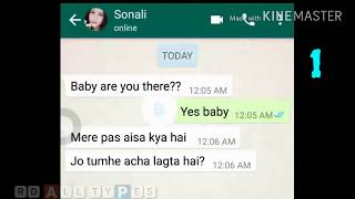 Top 2 whatsapp funny chatting girl and boy  latest 2018
