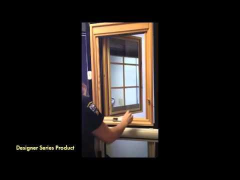 Pella Designer Series Casement Window Instructions