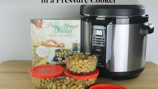 How to Cook Chickpeas in a Pressure Cooker - (Garbanzo Beans)
