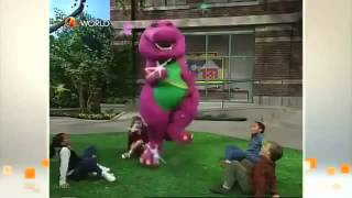 Barney comes to life (Circle Of Friends!) (Clip)